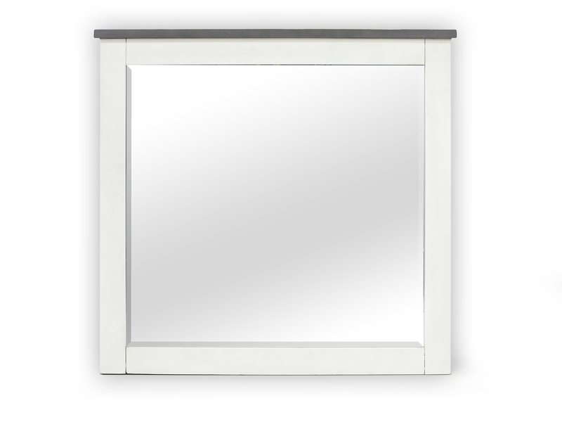 Carlsbad Mirror in White, Image 1