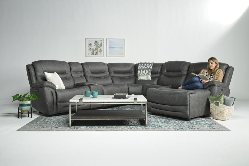 Splash_6_Piece_2_Power_Chaise_Sectional_in_Gray_Right_Facing_Styled_Talent.jpg