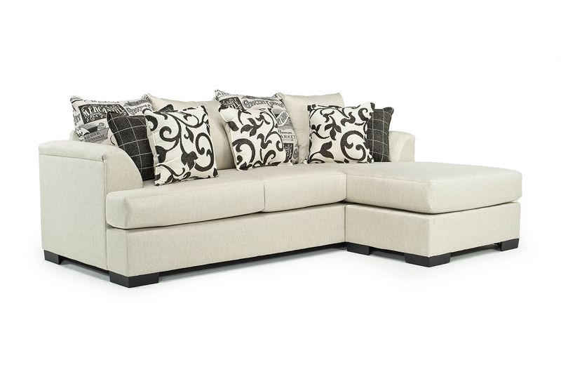 Passport Reversible Sofa Chaise in Natural, Image 1