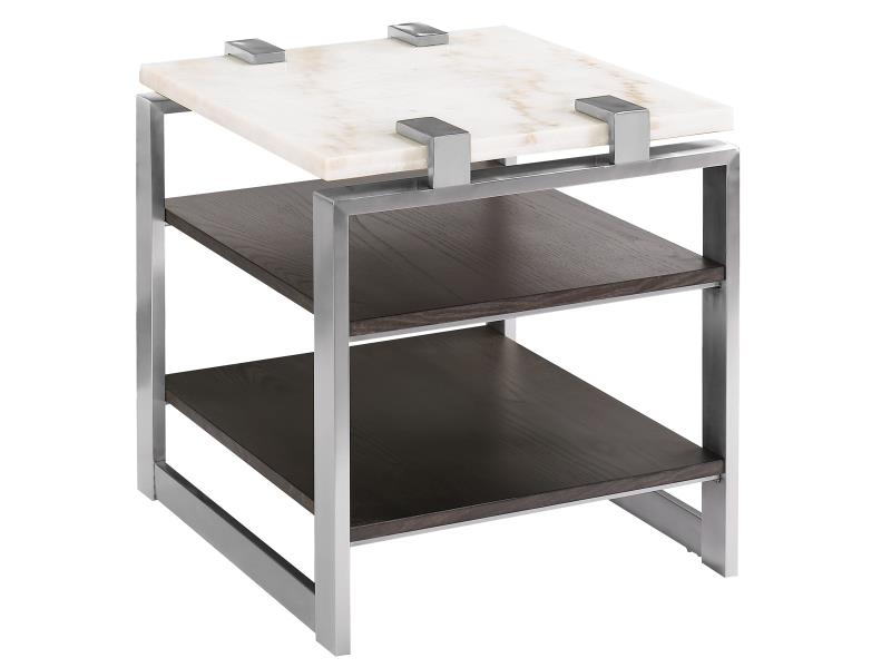 Paradox End Table in Multi, Image 1